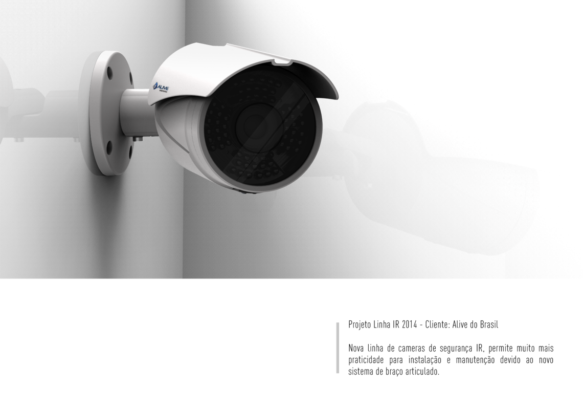 Design | Conceito – Cameras IR 2014