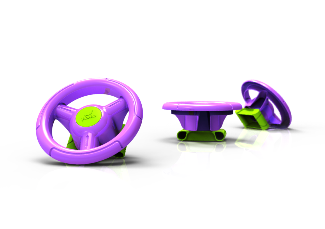 Design | Conceito – Volante Toy